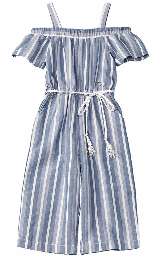 3da29166231 Preview with Zoom. Bebe. bebe Girls  Striped Jumpsuit