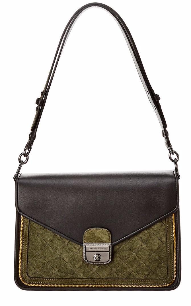8db05888a BuyInvite   Longchamp Longchamp Mademoiselle Leather & Suede ...