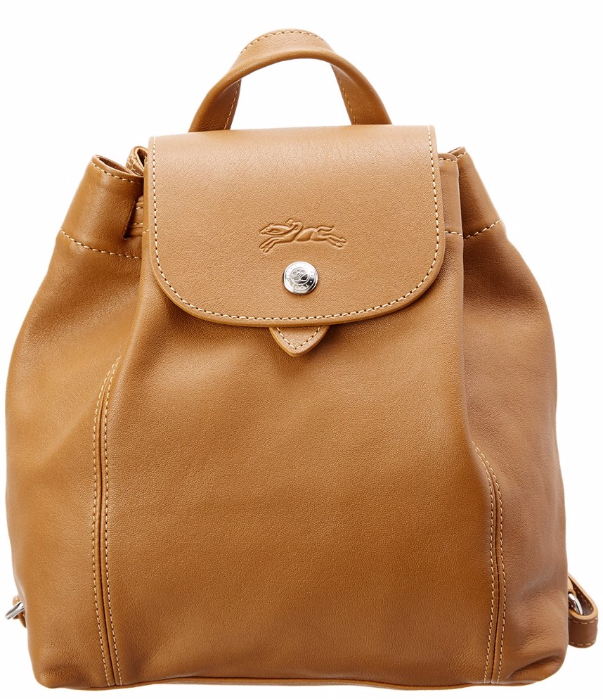 d127fdc43eaf Longchamp Le Pliage Cuir XS Leather Backpack