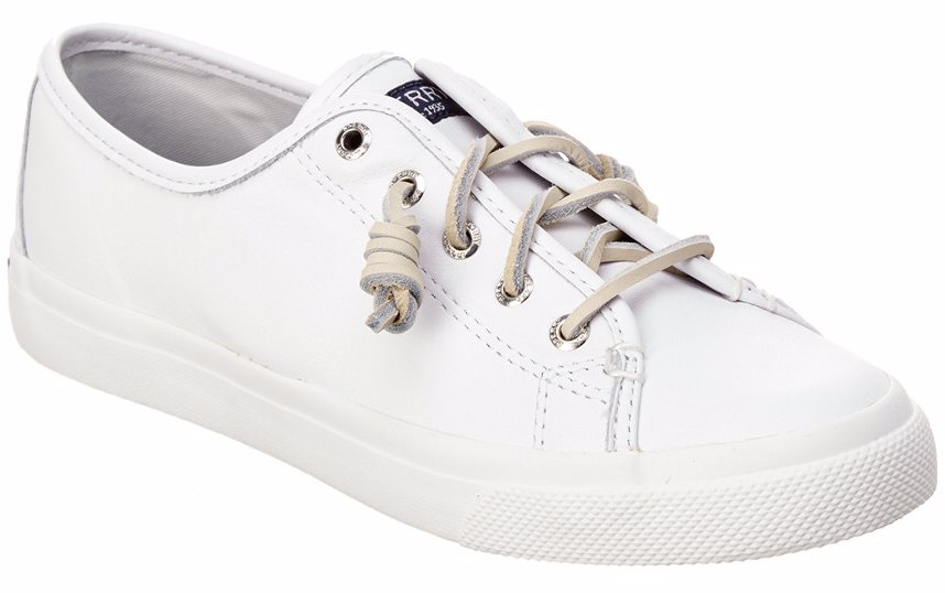 34c832f663a4 MYSALE | Sperry Sperry Women's Seacoast Leather Sneaker