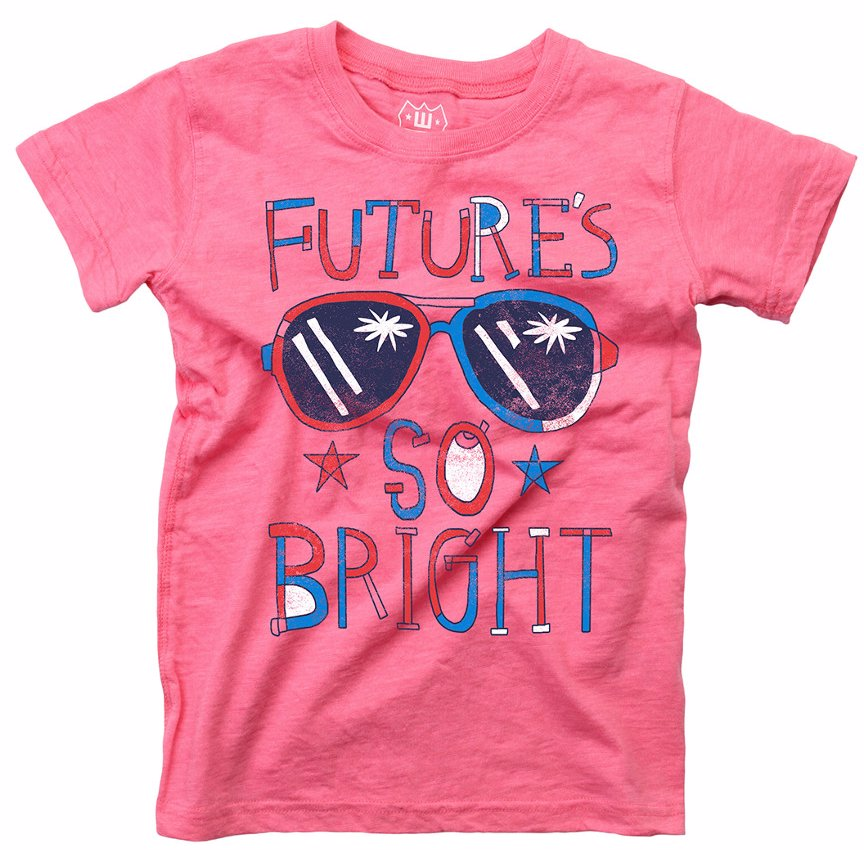 3525e482180a BuyInvite | Wes And Willy Wes Willy Future so Bright T-Shirt