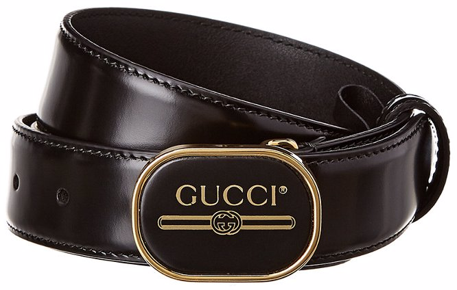 7ac8e79999 Print Buckle Leather Belt
