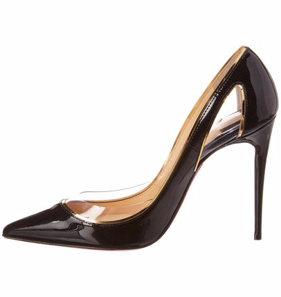 7d4a4ff67db Christian Louboutin Cosmo 554 100 Patent Pump