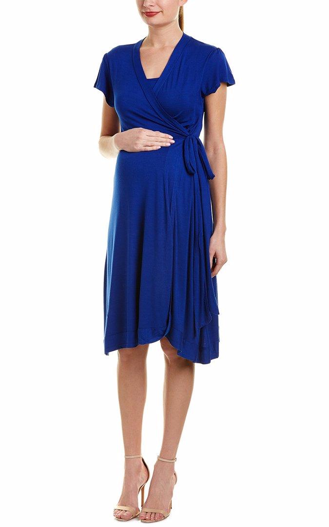 bd4200d35d499 BuyInvite | Everly Grey Everly Grey Maternity Kathy Wrap Dress