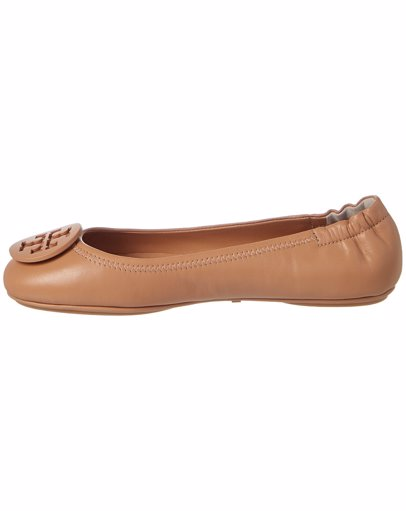 03f1bf95e27 BuyInvite   Tory Burch Tory Burch Minnie Travel Leather Ballet Flat