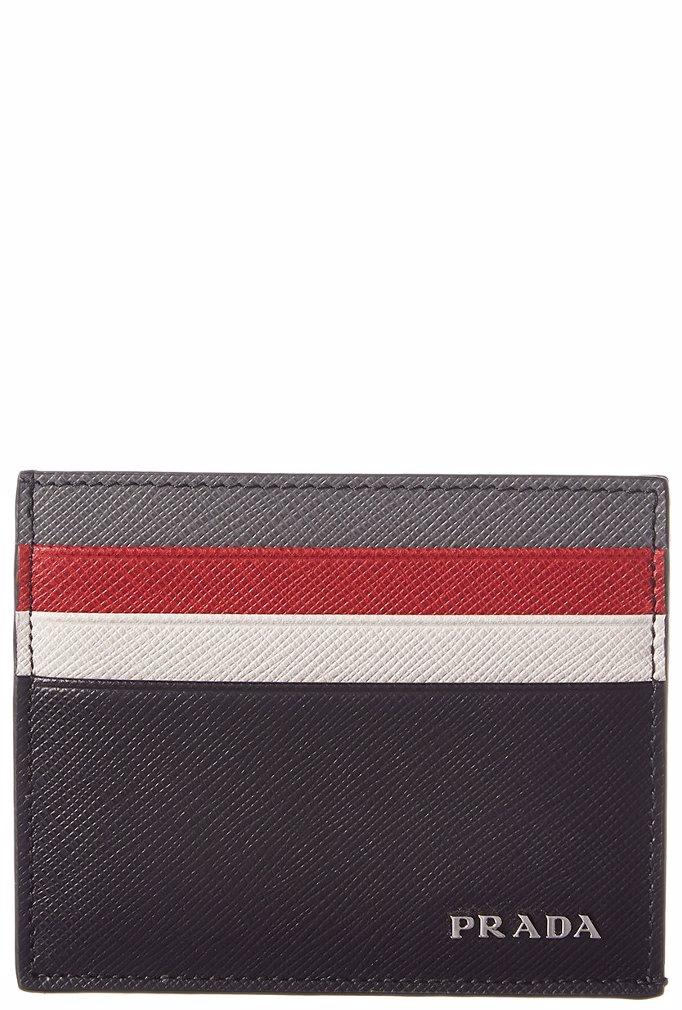07bb163f7776 Preview with Zoom. Prada. Prada Saffiano Leather Card Holder