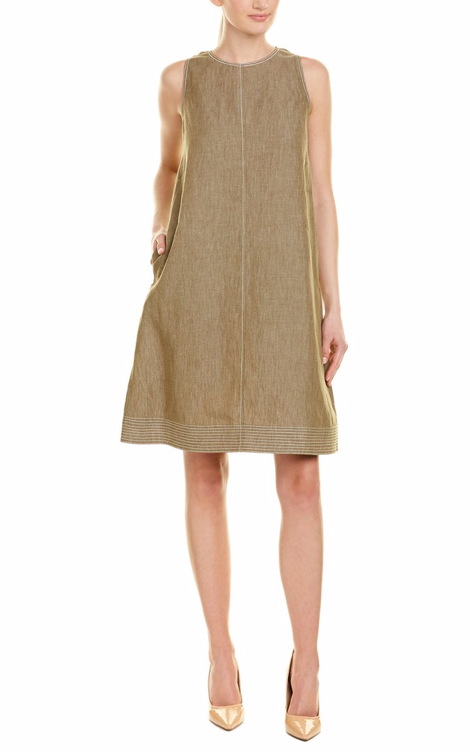 699b0422 BuyInvite | Lafayette 148 New York Hana Linen Shift Dress