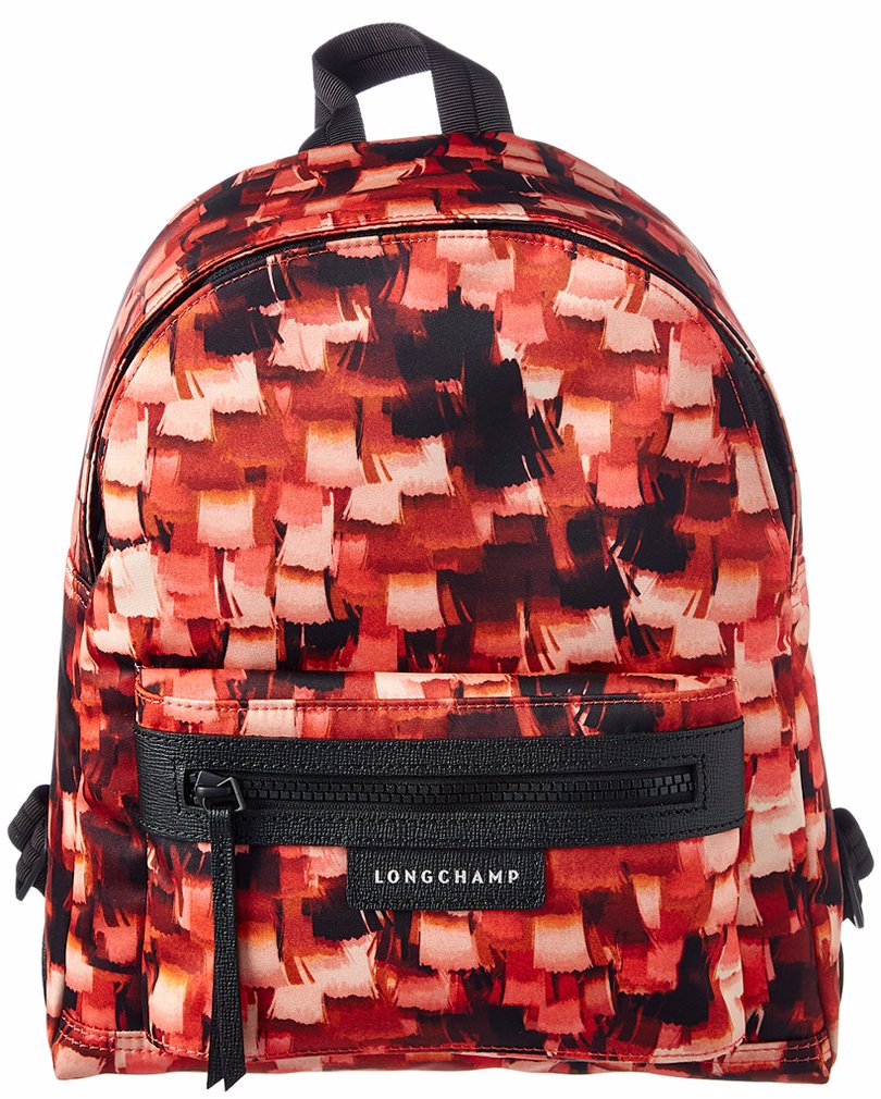 Longchamp Le Pliage Neo Print Small Black Authentic Backpack
