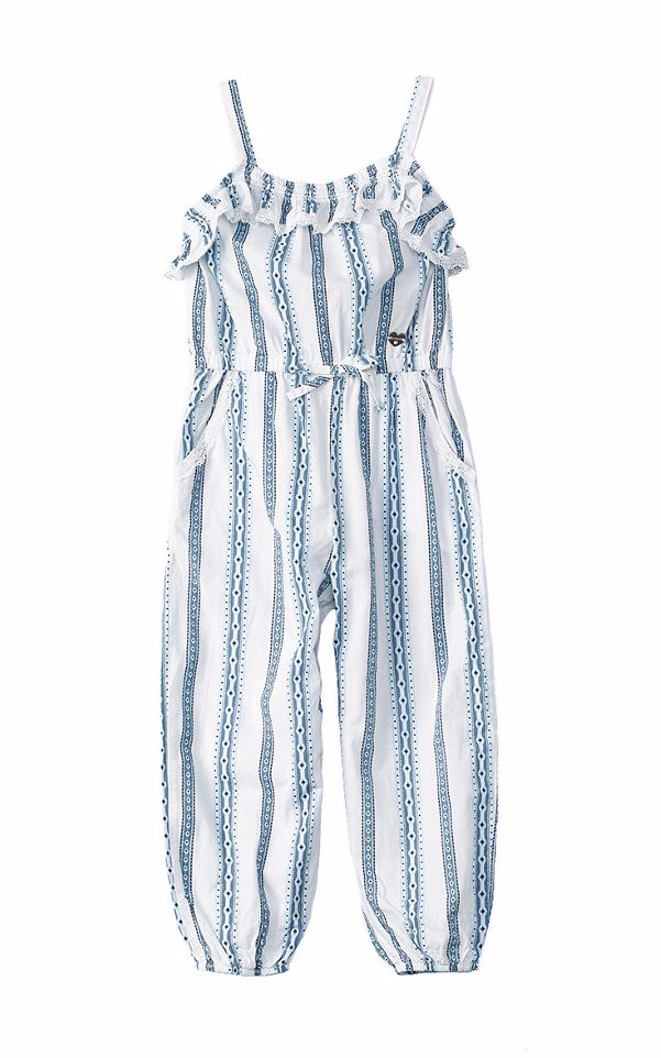 89f2e62f5cd Preview with Zoom. Loading... Bebe. bebe Girls  Striped Jumpsuit