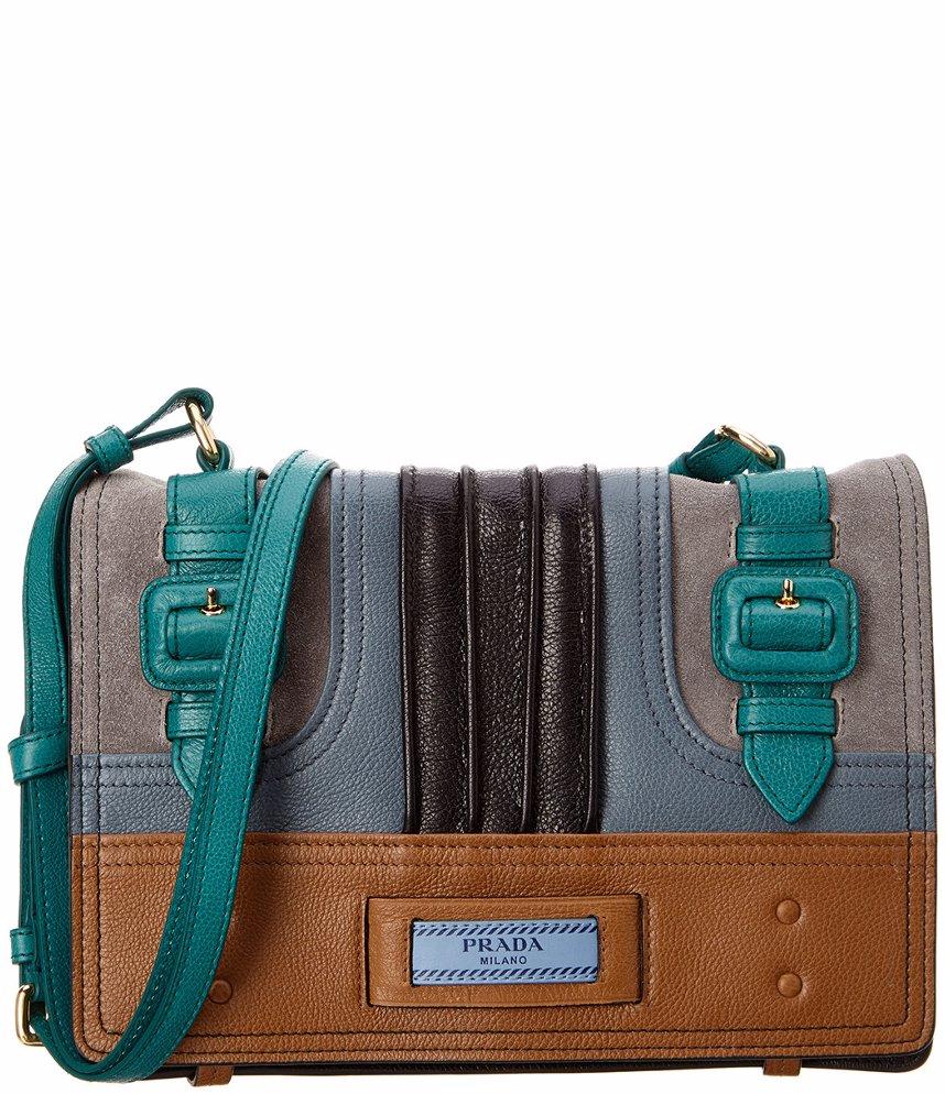 27a0f30df4b8 SINGSALE | Prada Prada Etiquette Leather Shoulder Bag