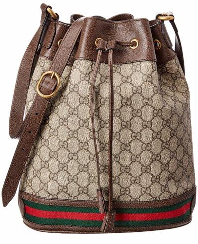 e0efcbfea BuyInvite | Gucci Ophidia GG Supreme Canvas & Leather Bucket Bag