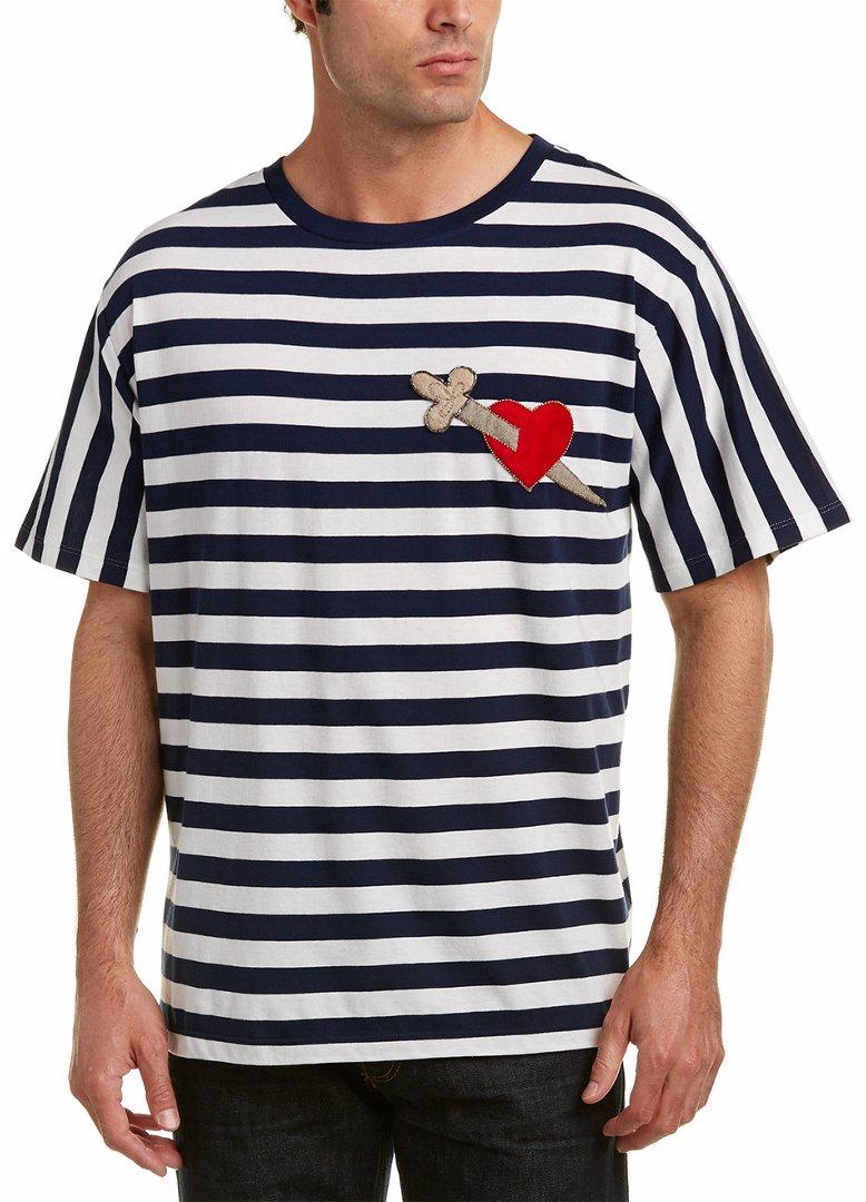 882ee2cce SINGSALE   Gucci Gucci Heart & Arrow Cotton T-Shirt
