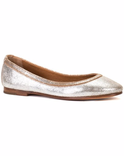 c27530c6d0f Frye Carson Ballet Leather Flat