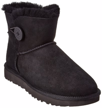 www.cocosa.co.uk — UGG UGG Women's Mini Bailey Button II Water-Resistant Twinface Sheepskin Boot