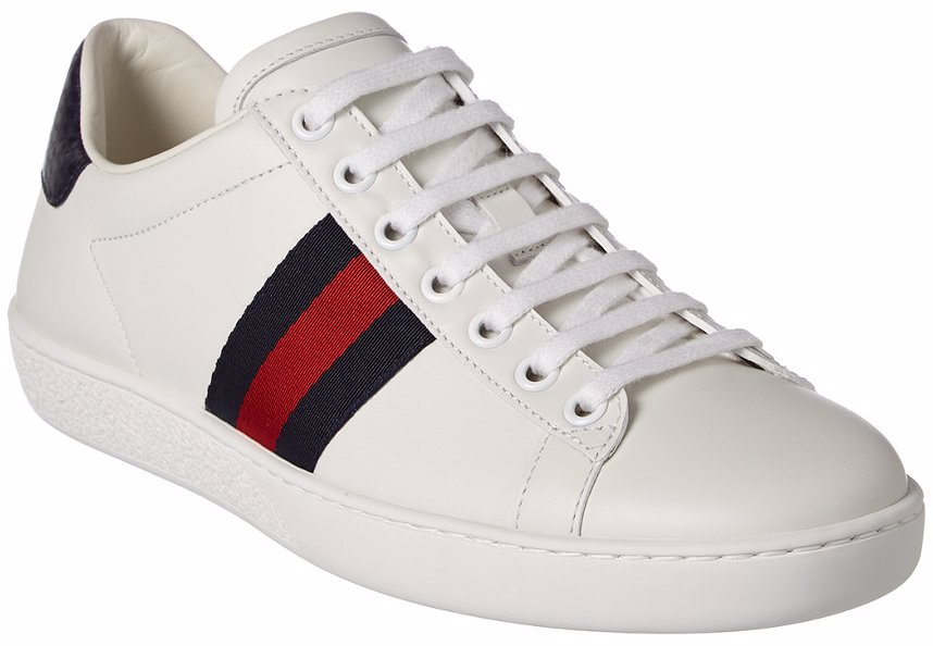 633c1ec65 OZSALE | Gucci Gucci Ace Low-Top Leather Sneaker