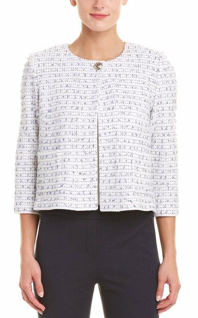 5426e46e0f55dc BuyInvite | St. John St. John Womens Wool-Blend Tweed Knit Jacket