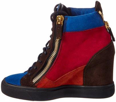 be012287ba267 BuyInvite | Giuseppe Zanotti Giuseppe Zanotti Leather & Suede High-Top  Wedge Sneaker