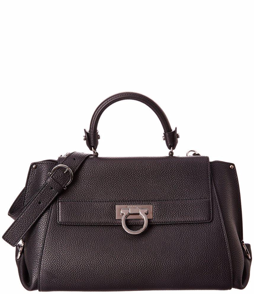 Preview with Zoom. Salvatore Ferragamo. Salvatore Ferragamo Sofia Medium  Leather Top Handle Bag 20747004b6cff