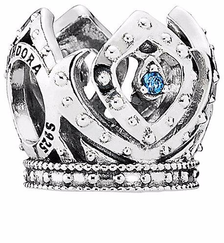a0b4f247cf965 Pandora Disney Jewelry Collection Silver Cz Elsa's Crown Charm