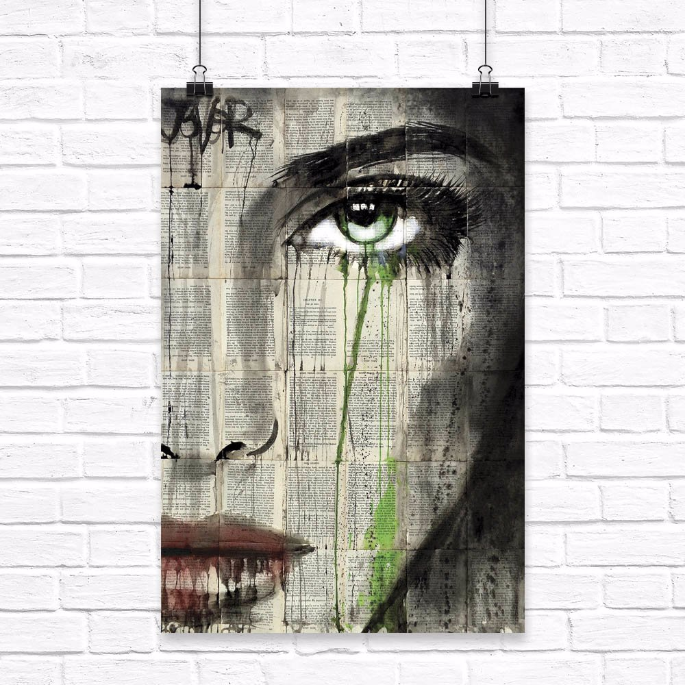 Definition by Loui Jover Canvas Print