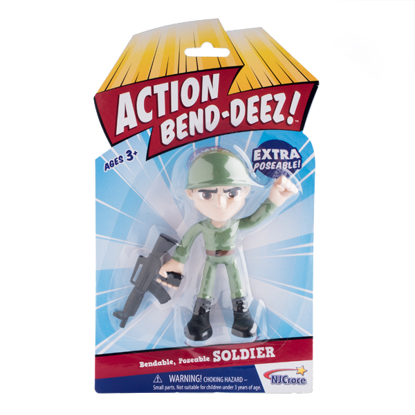 Action Bendables Soldier 1/12/48 3