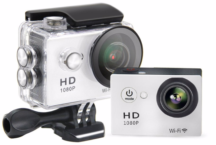 No Waterproof 1080p Hd Wifi Action Camera Preview With Zoom