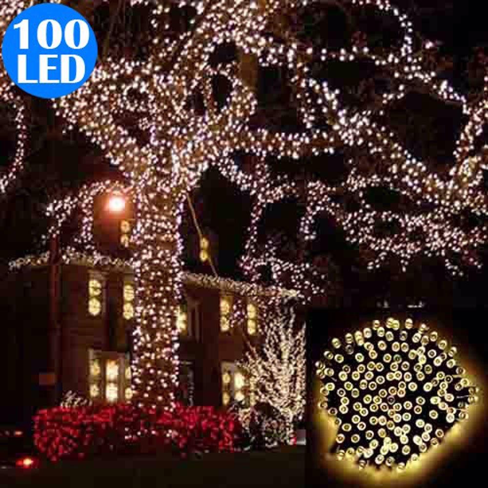 wwwsingsalecomsg warm white christmas solar powered 100 led 17m string light
