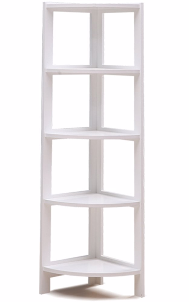 Preview With Zoom 5 Tier Corner Bookshelf