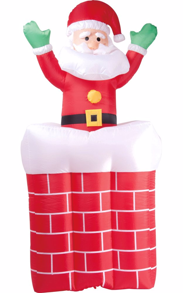 www.nzsale.co.nz — India Inflatable Christmas Pop-Up Chimney Santa