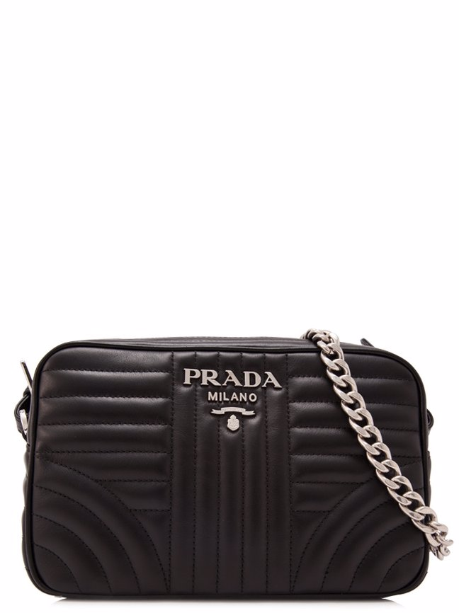 50ee818ab14a MYSALE | PRADA Prada Soft Calf Impunture Diagramme Shoulder Bag 21cm ...