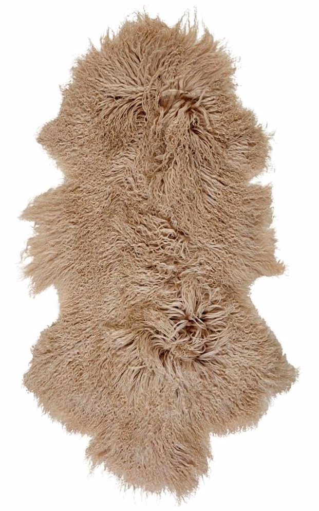 Preview With Zoom Mongolian Sheepskin Rug