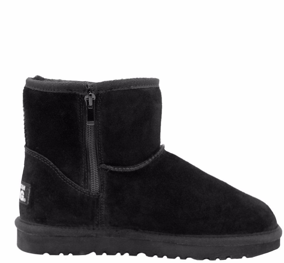 e73efc44267 BuyInvite | Waratah UGG® Water Resistant Short Zip Up Boot - Black