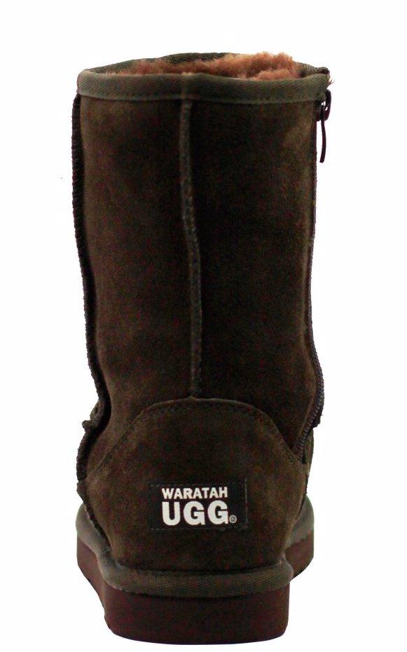 355738d84db BuyInvite | Waratah UGG® Water Resistant Mid Zip Up Boot - Chocolate