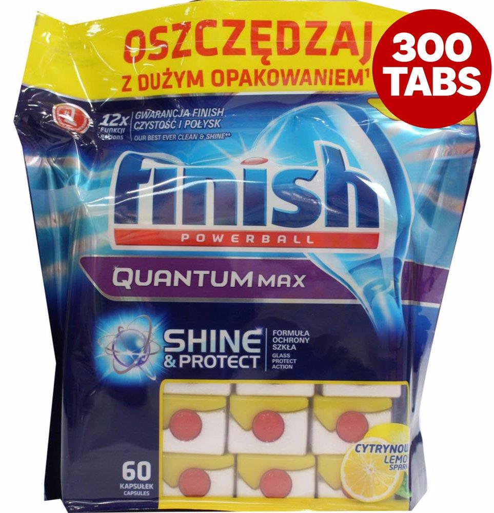 99bc75bf239f OZSALE | Finish 5 Pack- Pk60 Quantum Max Powerball Dishwashing ...