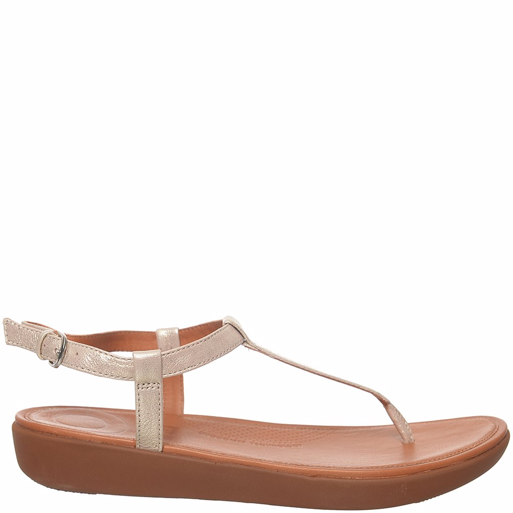 9e7592aed3f Preview with Zoom. Fitflop. Tia Toe Thong Sandals Leather Silver