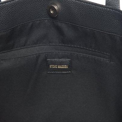 73231e2608a SINGSALE | Steve Madden Stevie Pocket Tote in Black