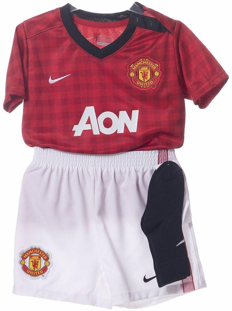 promo code 4b835 6f497 Manchester United Infants Home Kit
