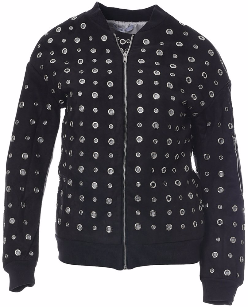 6d2b1bc42 Heart Of Holes Bomber Jacket