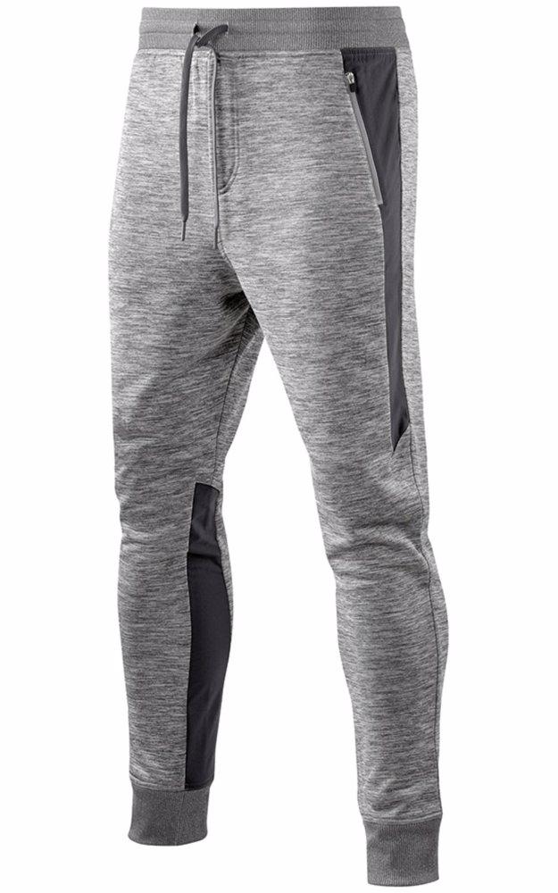 5fb3ec4f1c23f OO   Skins Skins Plus Binary Tech Fleece Mens Pants Clay/Marle