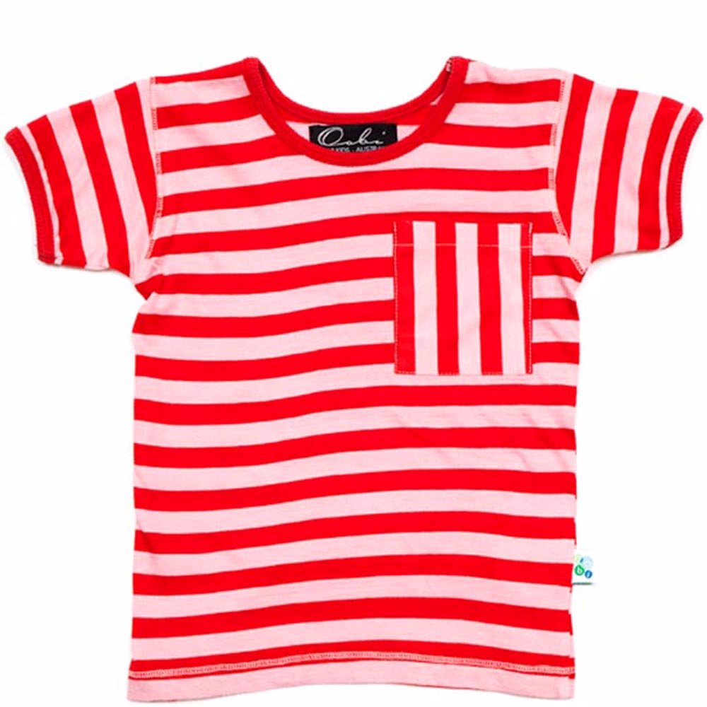 9bfb9e042 SINGSALE | Oobi Baby & Kids Pink Red Cotton Carnival Top