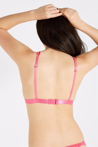 a883f4d1fb 65% off. Cotton On. Dakota Lace Bralette - Hot Pink