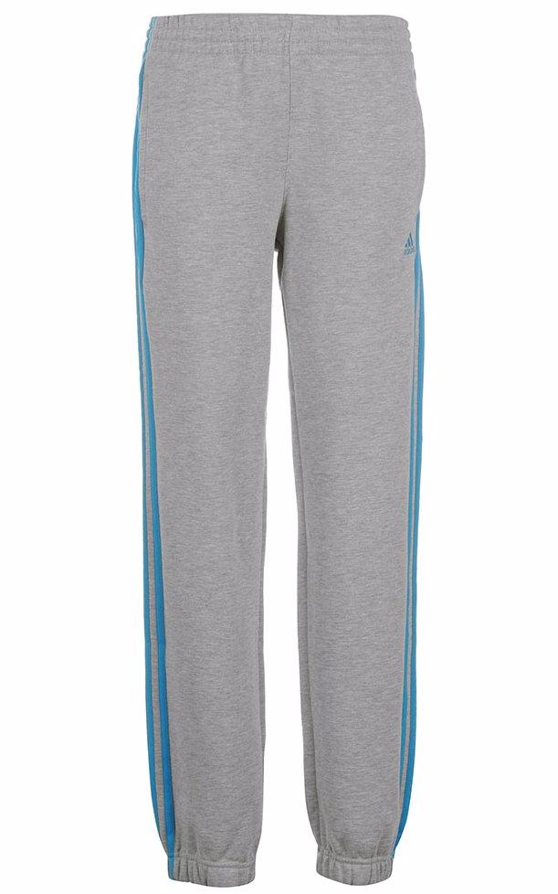 d1686ef8edc3 BuyInvite | Adidas Medium Grey Solidblue 3S Fleecepant Jn