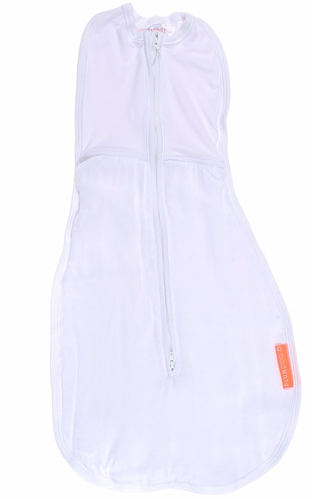 a3fd0514b TopBuy | Plum Baby Bamboo Jersey/ Muslin Pod In Plain White Design