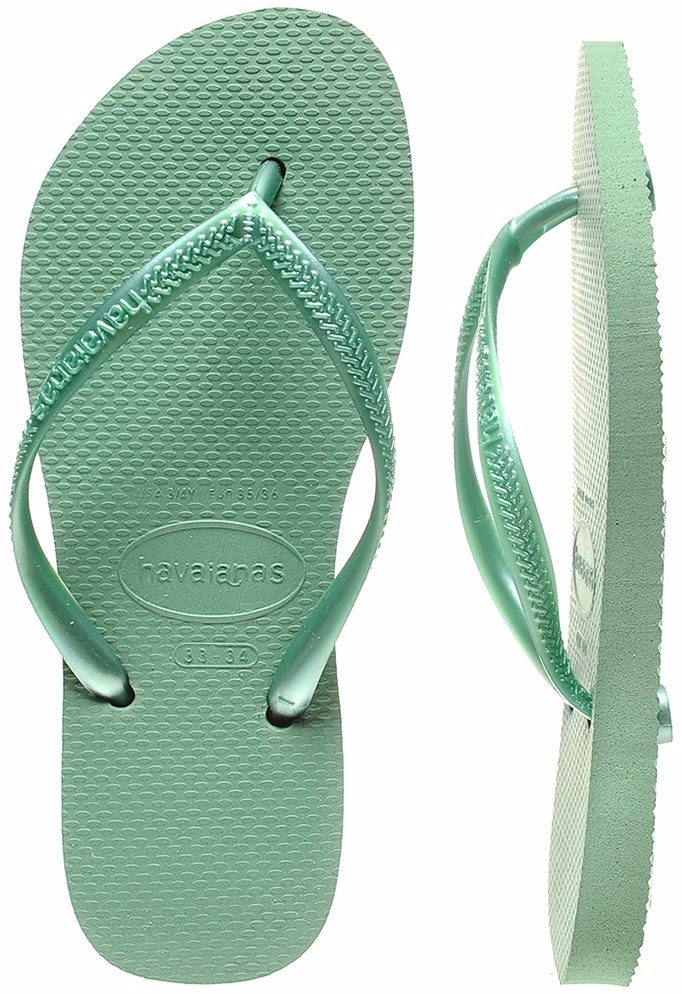 6405fc9b304da www.dealsdirect.com.au — Havaianas Green Tea Slim Thongs