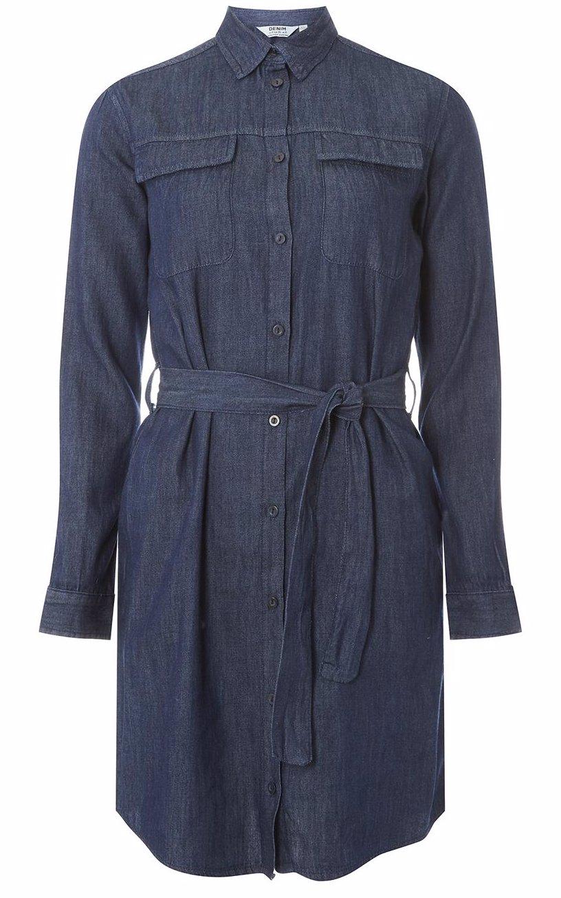 859256966 BuyInvite | Dorothy Perkins Indigo Shirt Dress