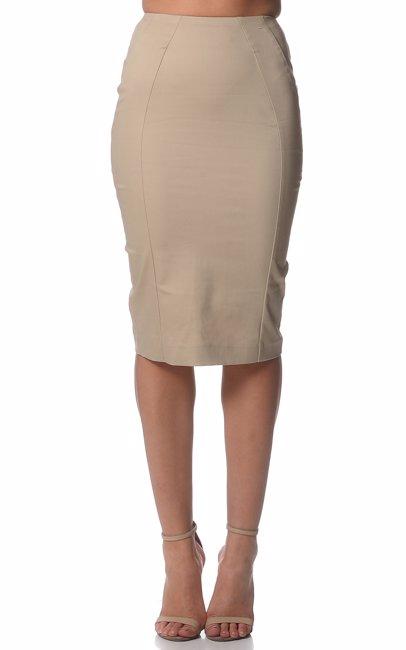 bb0cc20ab BuyInvite | Studio.W Stone Fitted Skirt