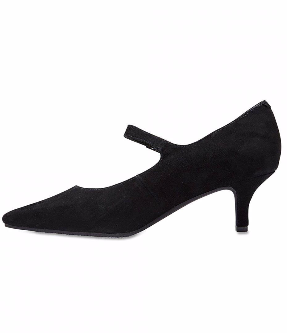 ffe54d53266 Womens Footwear Sandler Neon Black Suede Heels
