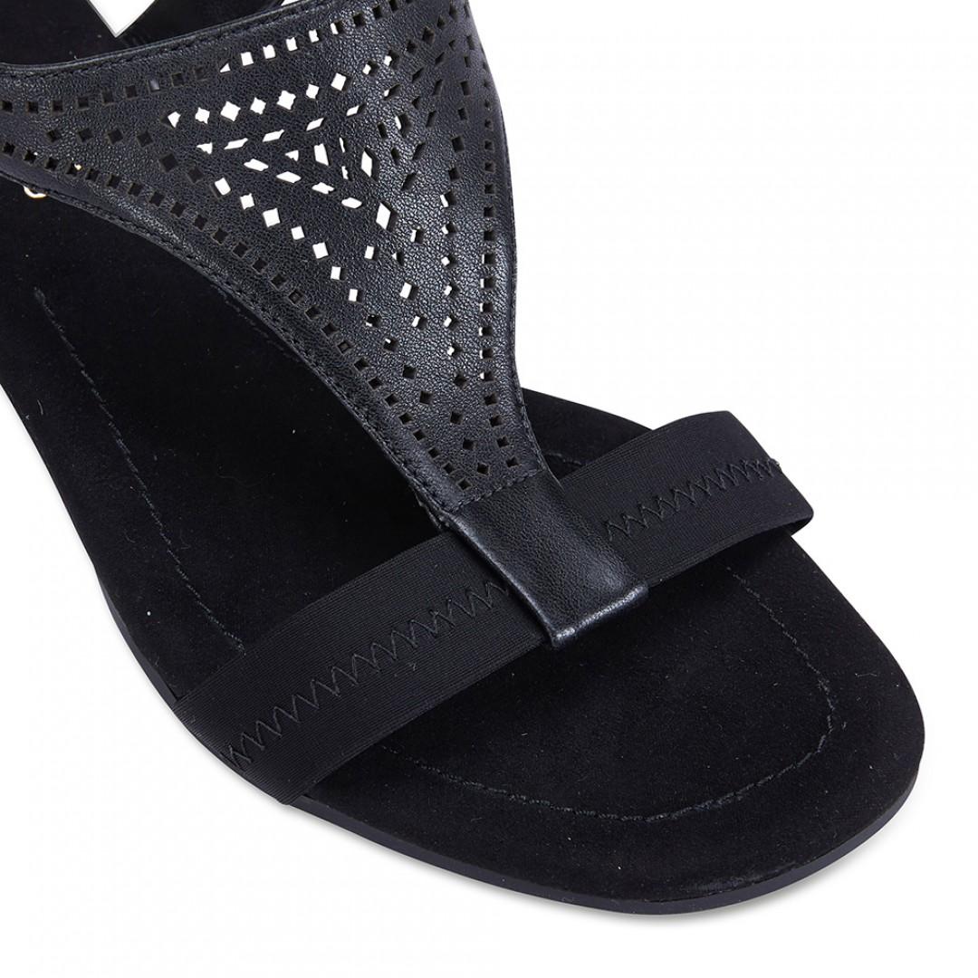 Womens Footwear Easy Steps Casino Black Glove Heels