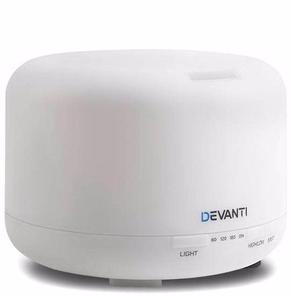 BuyInvite | Devanti 500ml 4-in-1 Aroma Diffuser White