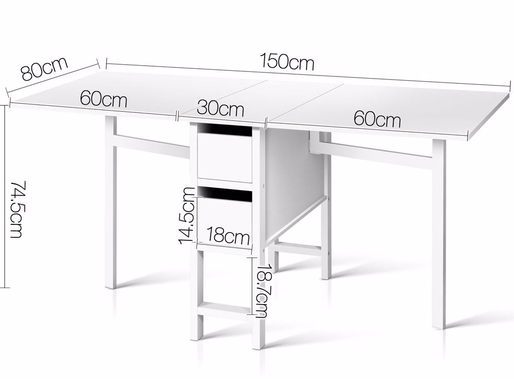 dealsdirect Gateleg Dining Table